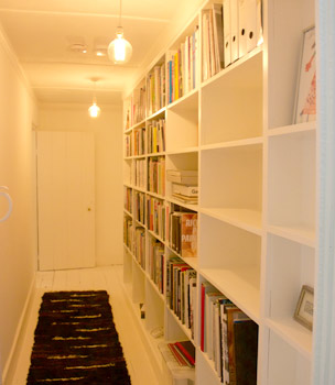 Bespoke Built-in Bookcase